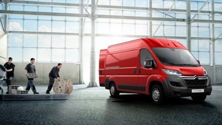Ticaretin ağır koşulları Yeni Citroën Jumper ile hafifliyor