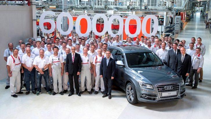 Audi'den 6 milyonuncu quattro!