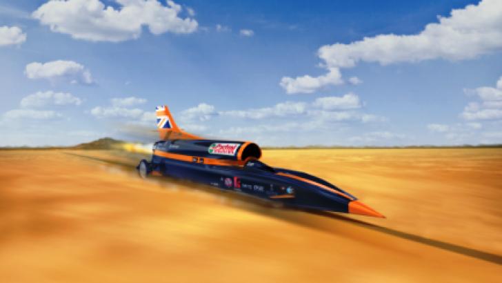Castrol ve 1609km/s hız denemesi