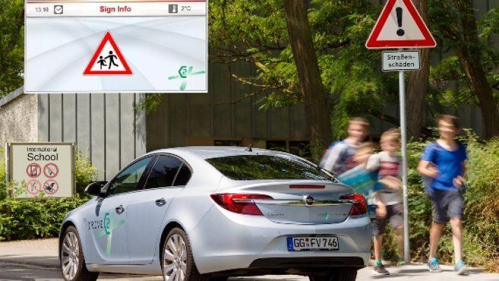 C2X DRIVE ; OPEL'den Yol Güvenliği