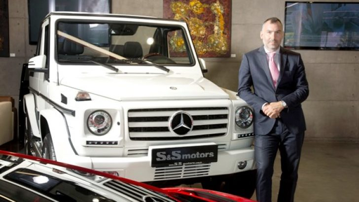 S&S Motor, 1 Milyonluk TL'lik Mercedes G Serisi'ni  Yeni Sahibine Teslim Etti!