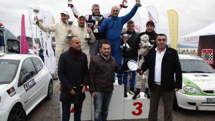 TOSFED Ralli Kupası'nda Yağışlı Final