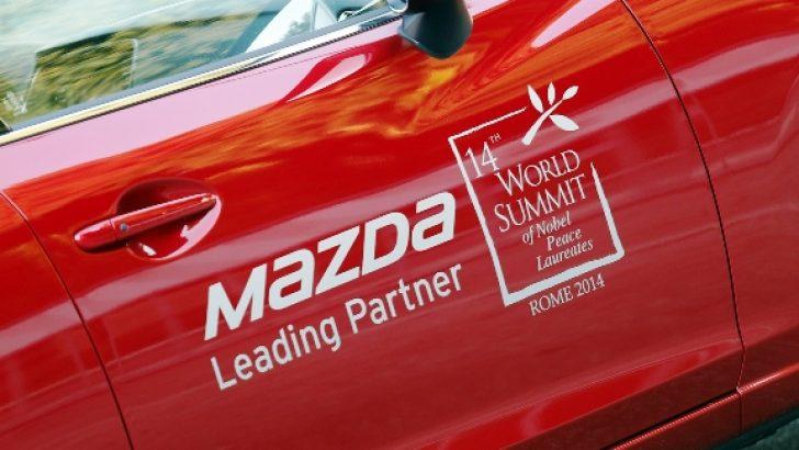 Mazda: Nobel Barış Ödülü sahipleri başarı zirvesi düzenledi.