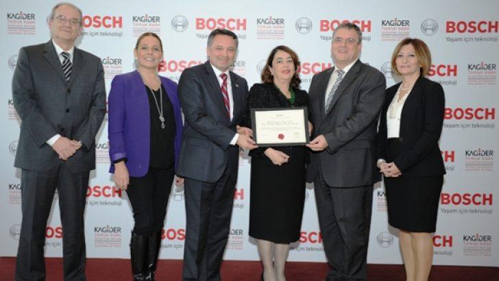 Bosch Dizel ve Benzinli Sistemler Bursa Fabrikası KAGİDER'den Fırsat Eşitliği Modeli Sertifikası Aldı