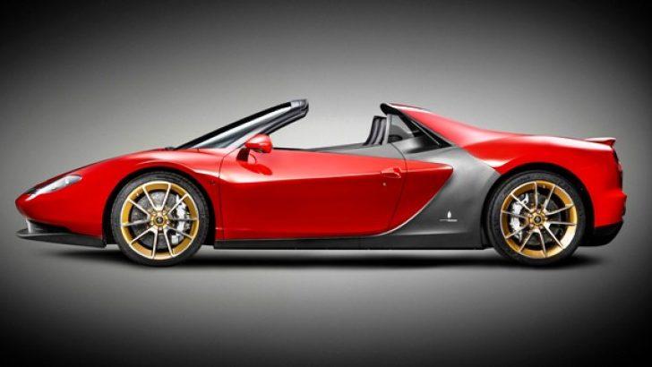 Konsept Sergio Pininfarina, Birleşik Arap Emirlikleri'ne satıldı.