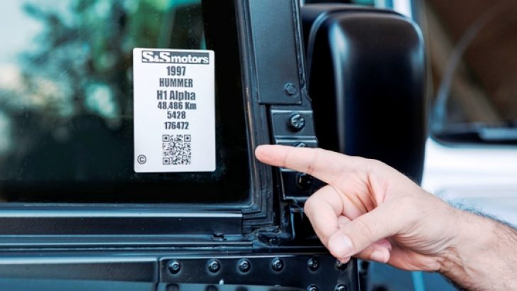 QR kod teknolojisi S&S Motors'da