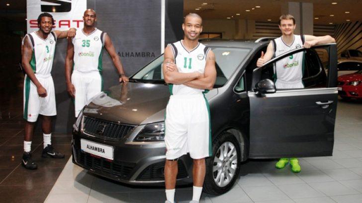 Darüşşafaka Doğuş Basketbol Takımı oyuncularına SEAT Alhambra