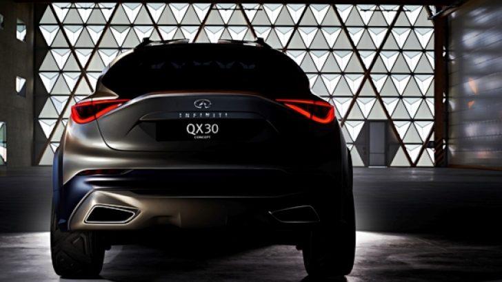 INFINITI, yeni kompakt crossover'ı, QX30