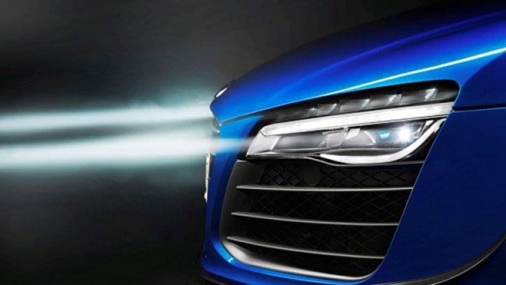 Audi'den lazer devrimi!