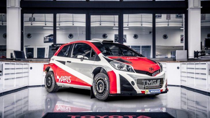 Toyota, Yaris ile 2017'de WRC'ye Dönüyor