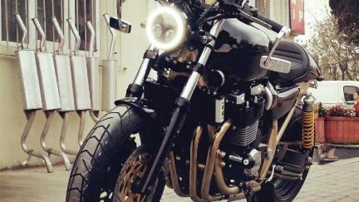 Rumble-Motorhane; kişiye özel motosiklet yapıyor.