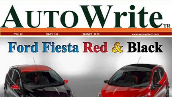 AUTO WRITE Digital ŞUBAT sayısı YAYINDA