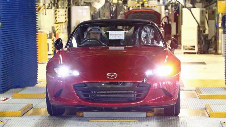 Mazda, yepyeni MX-5'in üretimine başladı