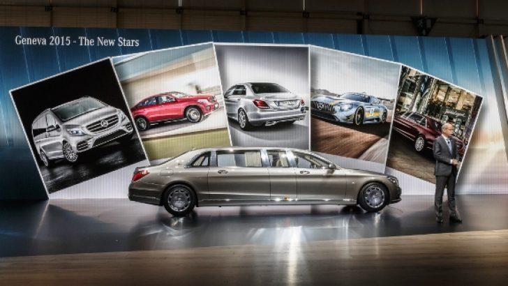 Mercedes-Benz yeni yıldızlarını Cenevre Otomobil Fuarı'nda tanıttı