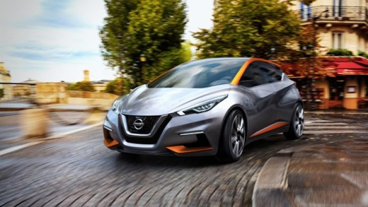 Nissan Kompakt Hatchback'i Yeniden Yorumluyor: SWAY!