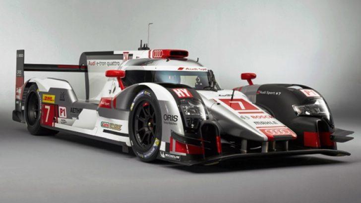 Audi yeni Le Mans aracını tanıttı!