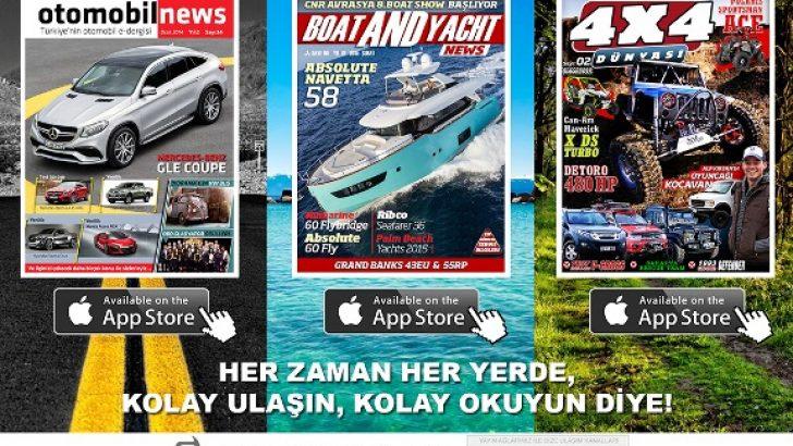 Erel Medya, App Store'da