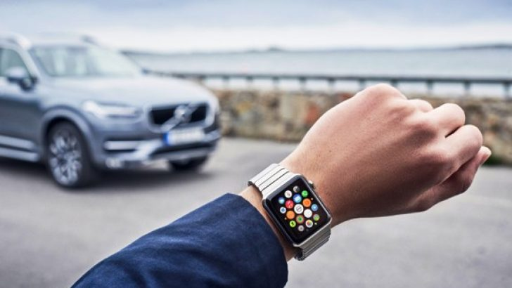 Volvo'nuzu Apple Watch'unuzdan kontroledin