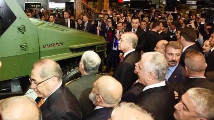 "BMC, ""VURAN""ı Cumhurbaşkanı'na Tanıttı"