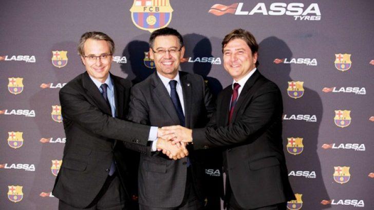 Lassa, FC Barcelona Kulübü'nün Global Resmi Partneri oldu