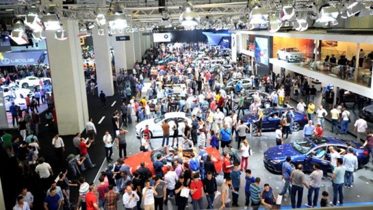 İstanbul Autoshow 2015'i 600.000'e yakın kişi ziyaret etti