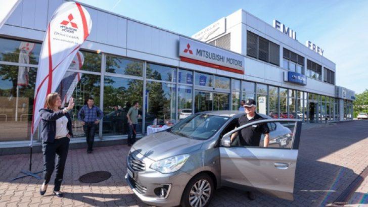 Mitsubishi Attrage'dan yeni bir tasarruf rekoru: