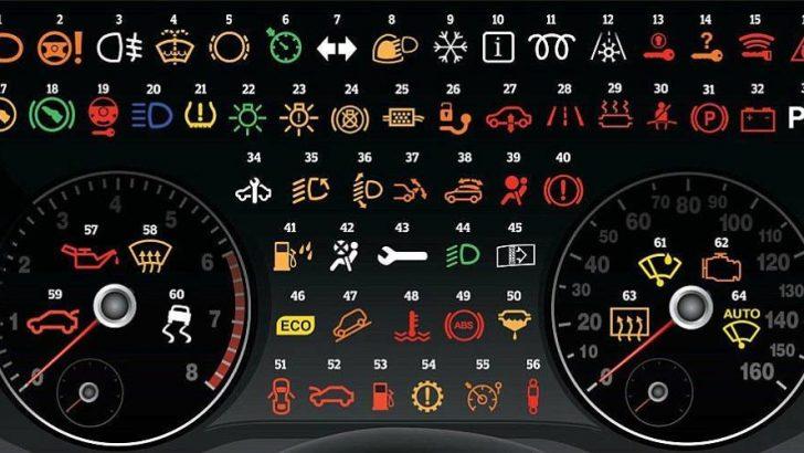 Aracınızın Gösterge Panelindeki Işıklar Ne Anlama Geliyor