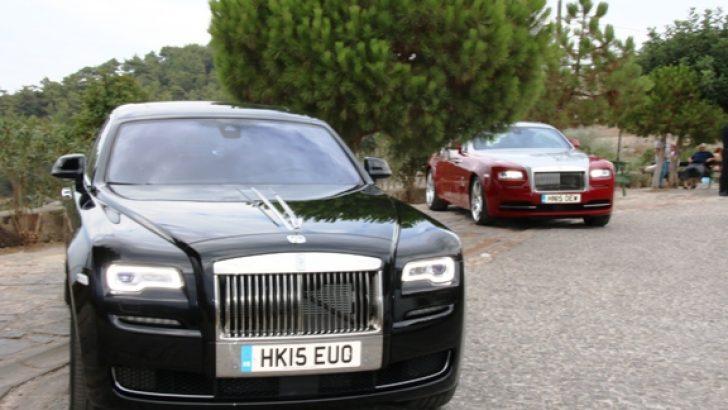 Rolls-Royce Bodrum'daydı