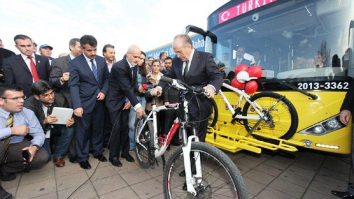 İETT'den Bisikletliye Özgür ve Güvenli Ulaşım
