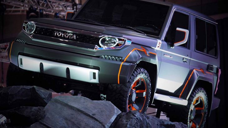 Konsept Toyota Land Cruiser 70 serisi