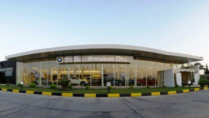 Borusan Oto Adana-Mersin şubesine servis yatırımı