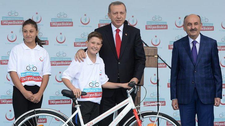 Erdoğan'dan bisiklet yolları konusunda belediyelere eleştiri