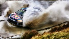 WRC Büyük Britanya'da zafer, Volkswagen pilotu Sébastien Ogier'nin