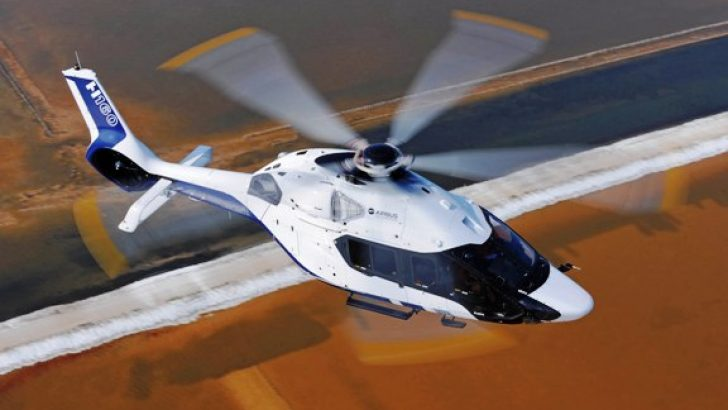 Peugeot ve Airbus helicopters H160