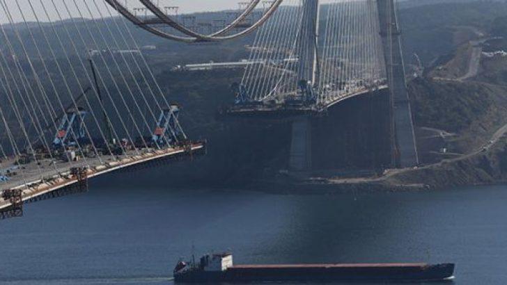 3. köprünün yapımında son durum