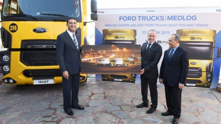 400 adet FORD Trucks 1846T