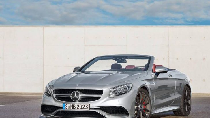 2016 Mercedes-Benz S63 AMG 4Matic Cabriolet Edition 130