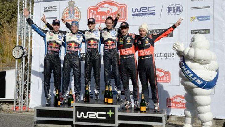 WRC Monte-Carlo'da Volkswagen ekibi Michelin ile zirveye taşındı