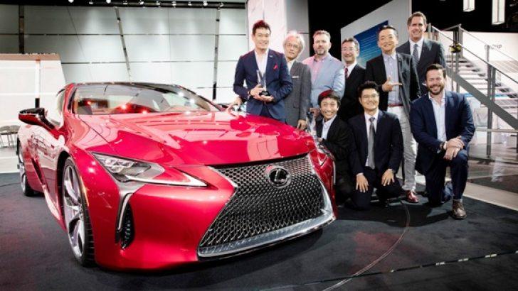 Lexus LC 500 EyesOn Design Ödülü'nü Kazandı