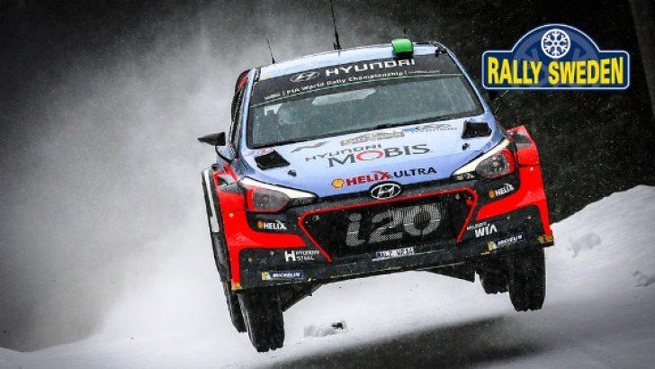 HYUNDAI i20 WRC İSVEÇ'TE DE PODYUMA ÇIKTI