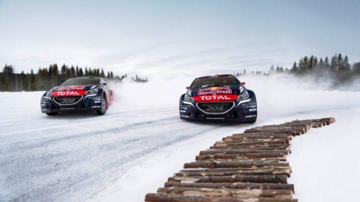 Loeb ve Hansen Peugeot'da