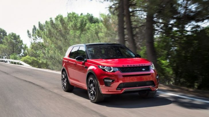 Yeni Land Rover Discovery Sport TD4