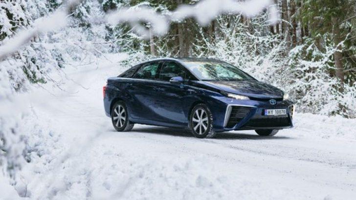 Sıfır Emisyonlu Toyota Mirai