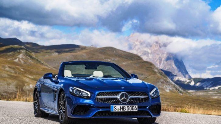 Yeni Mercedes-Benz SL