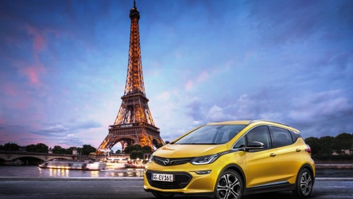 Elektrikli Opel Ampera, Paris Fuarı'nda ortaya çıkıyor
