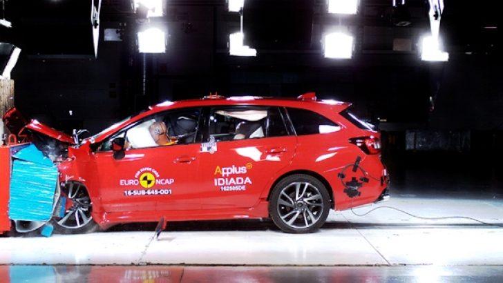 Subaru Levorg'a Euro NCAP 2016 Güvenlik Testi'nden Tam Not