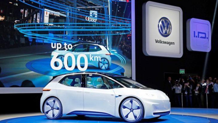 """Volkswagen'in gelecek vizyonu """"I.D concept"""" de buluştu"""
