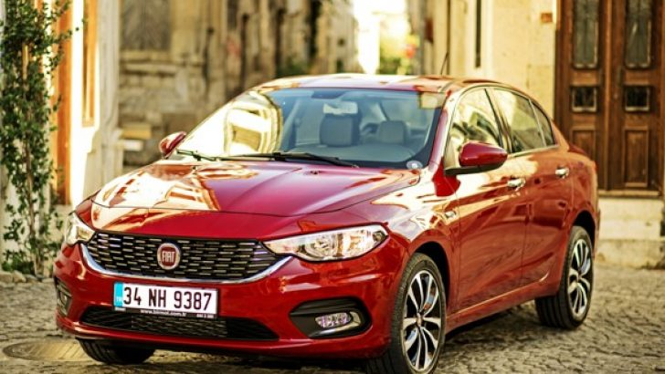 Dizel Otomatik Fiat Egea Sedan Bayilerde!