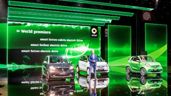 "Mercedes-Benz ""E-mobilite"" temasıyla Paris Otomobil Fuarı'nda"