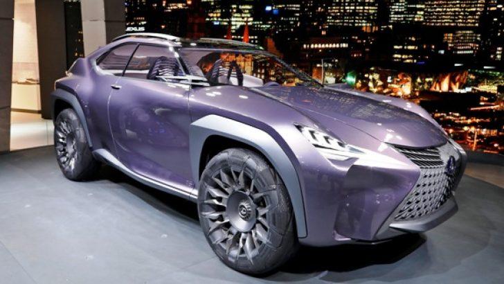 Goodyear, yeni Lexus UX'e özel konsept lastik üretti.